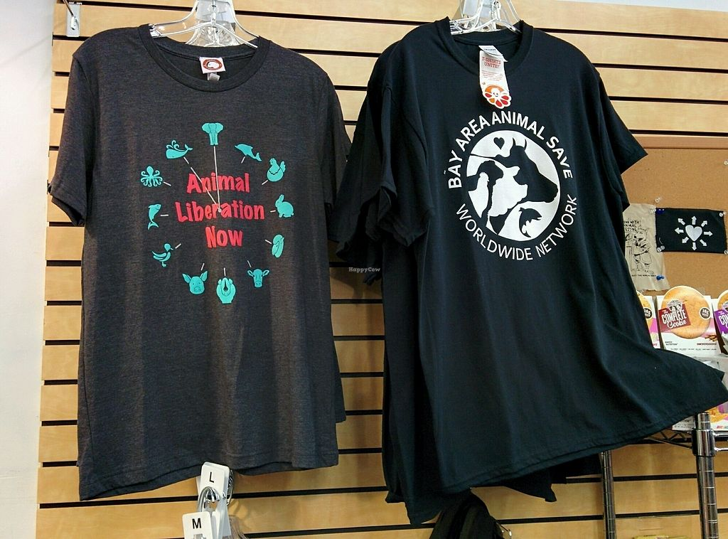 """Photo of Snacktown at the Berkeley Animal Rights Center  by <a href=""""/members/profile/MizzB"""">MizzB</a> <br/>T-shirts <br/> November 20, 2017  - <a href='/contact/abuse/image/95000/327619'>Report</a>"""