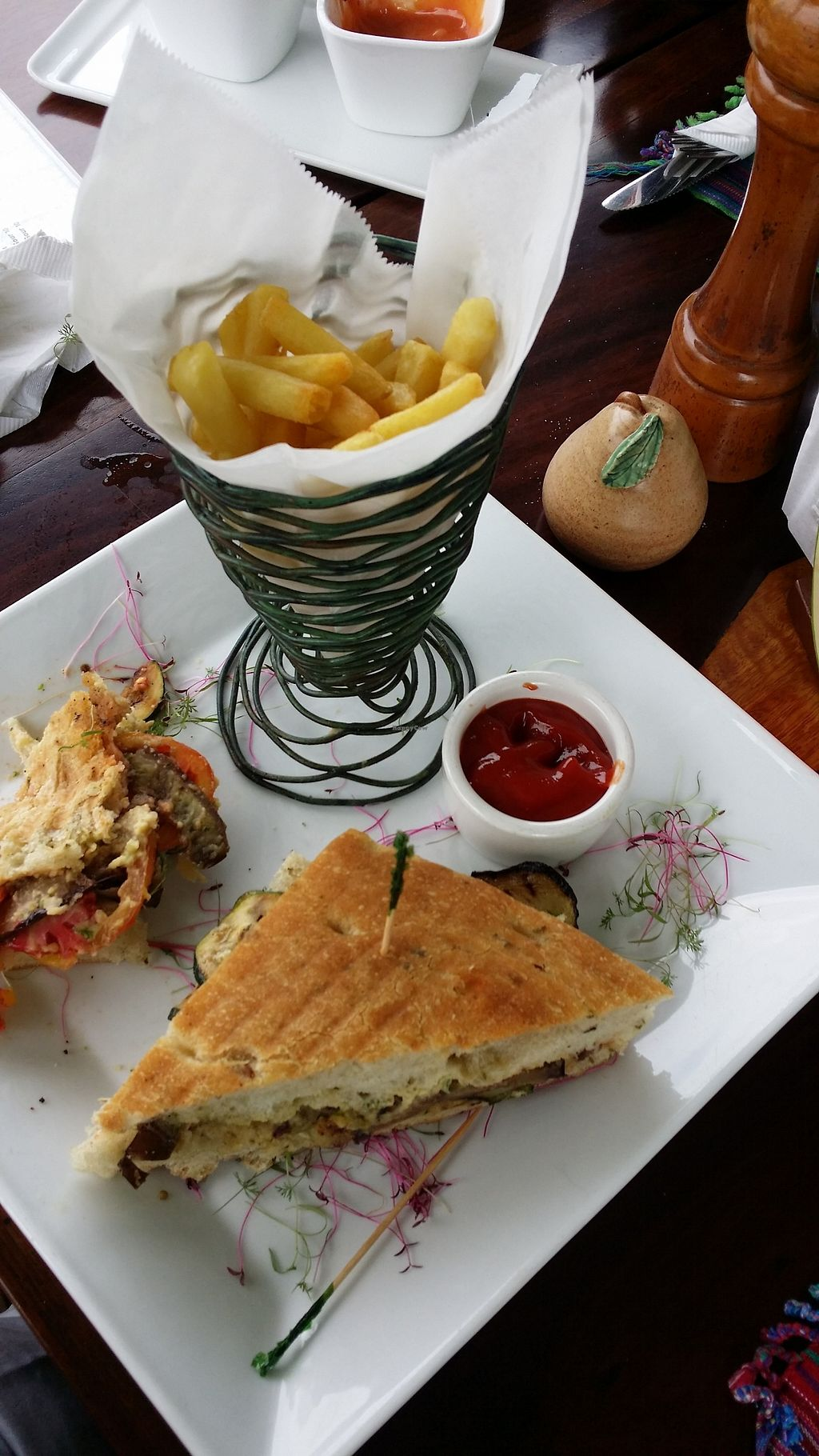 """Photo of The Guava Limb Restaurant & Cafe  by <a href=""""/members/profile/mmuqtasid"""">mmuqtasid</a> <br/>Vegetable panini <br/> July 3, 2017  - <a href='/contact/abuse/image/95012/276210'>Report</a>"""