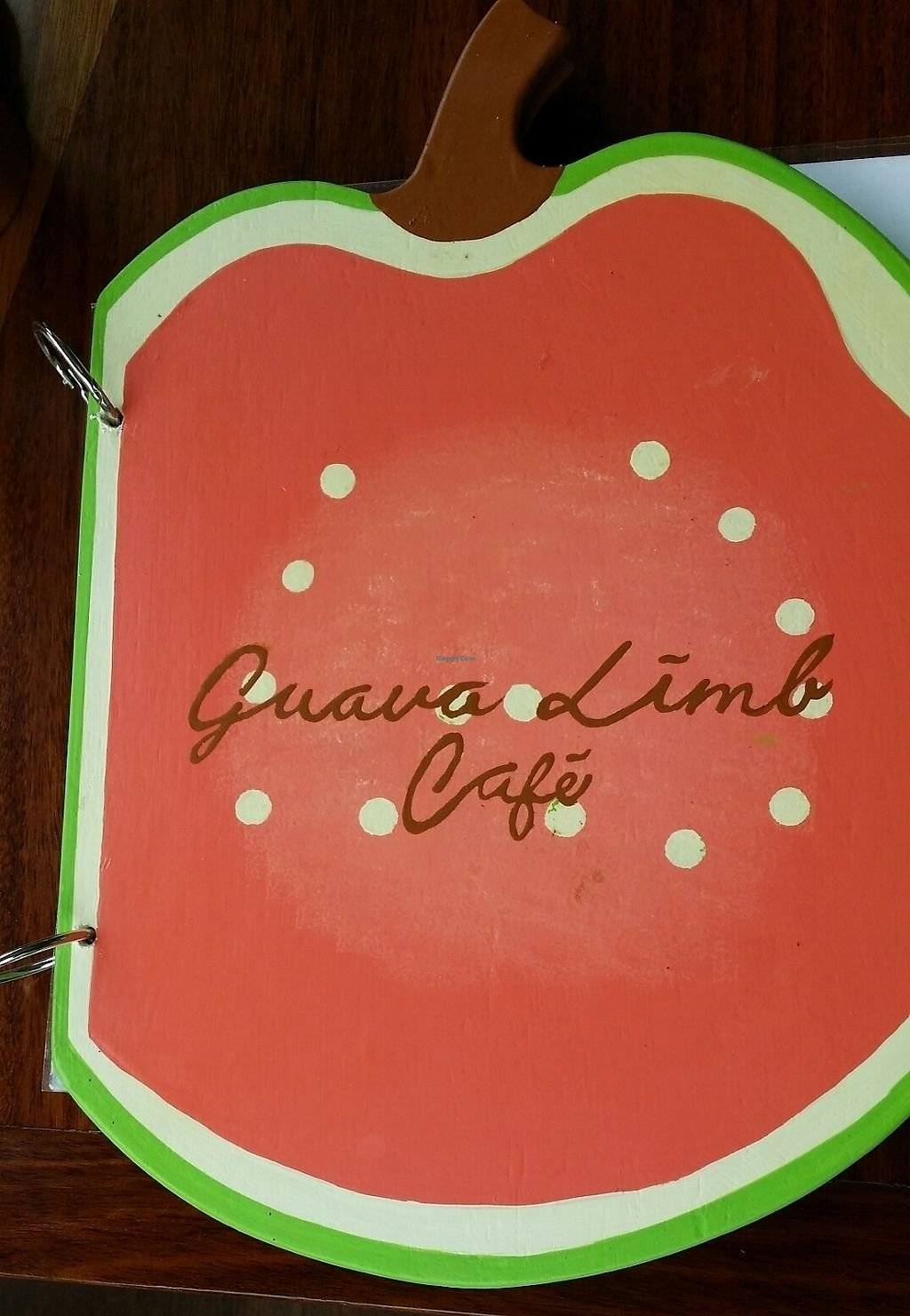 """Photo of The Guava Limb Restaurant & Cafe  by <a href=""""/members/profile/mmuqtasid"""">mmuqtasid</a> <br/>The menu <br/> July 3, 2017  - <a href='/contact/abuse/image/95012/276211'>Report</a>"""