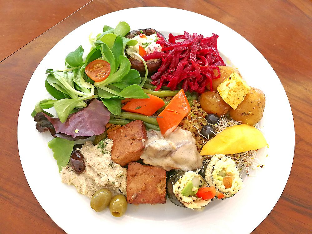 """Photo of The Sacred  by <a href=""""/members/profile/KasperKommunikation"""">KasperKommunikation</a> <br/>Choose from an opulent buffet in the Sacred - everything is made of vegan, organic whole foods <br/> July 3, 2017  - <a href='/contact/abuse/image/95024/276273'>Report</a>"""