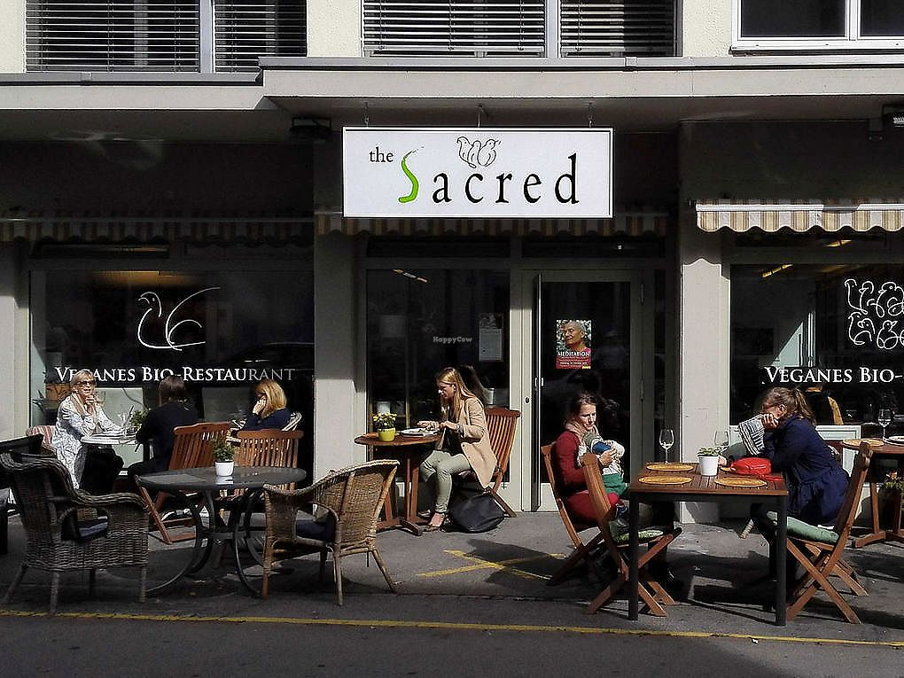 """Photo of The Sacred  by <a href=""""/members/profile/KasperKommunikation"""">KasperKommunikation</a> <br/>Enjoy delicious organic vegan food In The Sacred - inside or outside on the terrace <br/> July 3, 2017  - <a href='/contact/abuse/image/95024/276274'>Report</a>"""