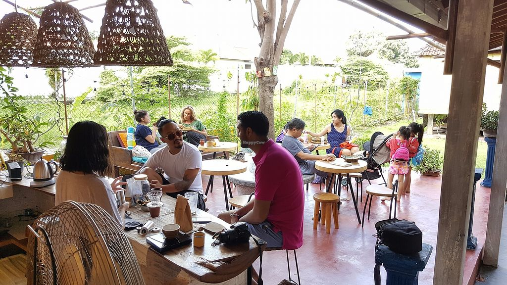 """Photo of Vedic Kitchen   by <a href=""""/members/profile/Elicesantoso"""">Elicesantoso</a> <br/>Laid back peaceful ambience. We can have some chai tea while waiting for our food <br/> June 30, 2017  - <a href='/contact/abuse/image/95029/274984'>Report</a>"""