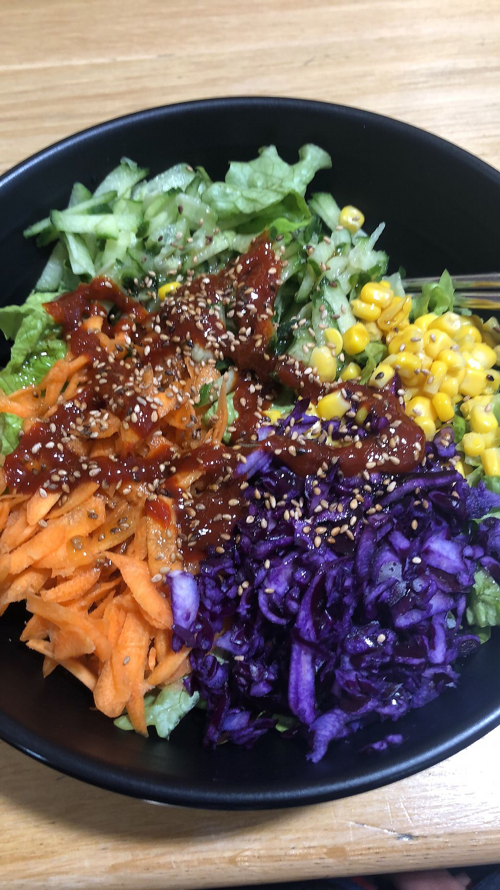 """Photo of Omija  by <a href=""""/members/profile/Jaelle"""">Jaelle</a> <br/>Vegetalien (vegan) bibimbap <br/> March 13, 2018  - <a href='/contact/abuse/image/95034/370324'>Report</a>"""