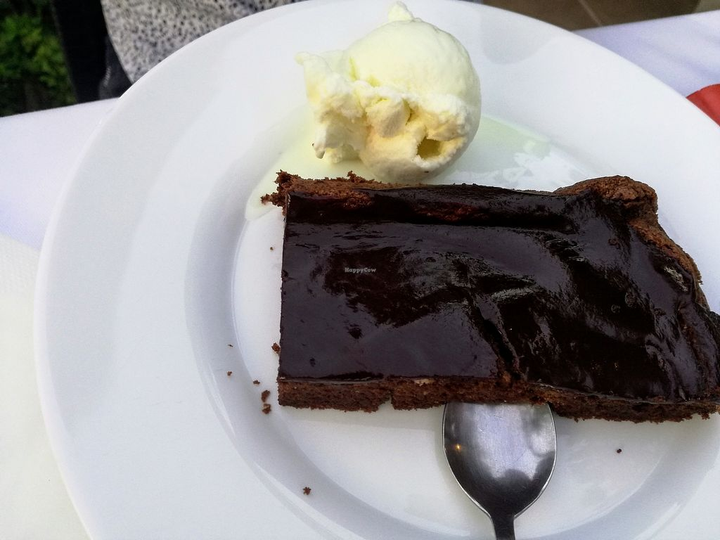 "Photo of Peppermint Fresh Kitchen  by <a href=""/members/profile/Ana-MariaMaican"">Ana-MariaMaican</a> <br/>Vegetarian chocolate cake with vanilla ice cream <br/> July 1, 2017  - <a href='/contact/abuse/image/95058/275541'>Report</a>"