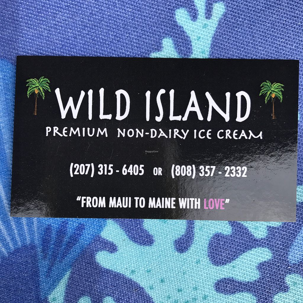 """Photo of Wild Island Non-Dairy Ice Cream  by <a href=""""/members/profile/Sarah%20P"""">Sarah P</a> <br/>card <br/> June 30, 2017  - <a href='/contact/abuse/image/95071/275067'>Report</a>"""