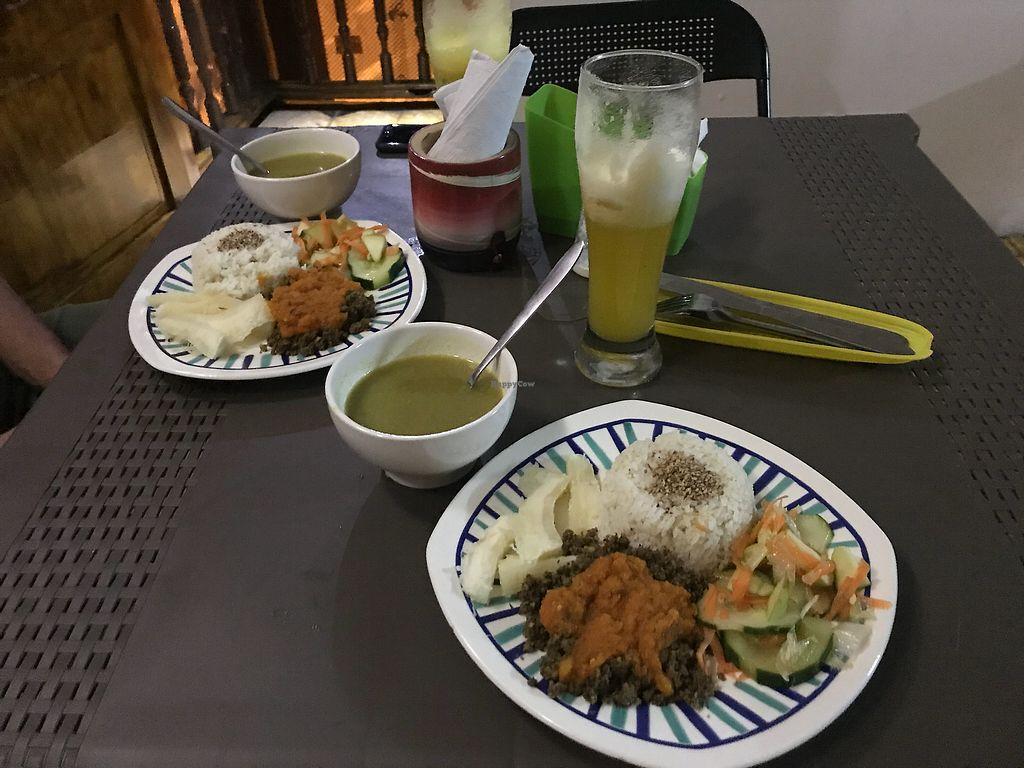 """Photo of Samudra Govindas  by <a href=""""/members/profile/Melinacoconut"""">Melinacoconut</a> <br/>Delicious vegan food even a non-vegan loved  <br/> December 10, 2017  - <a href='/contact/abuse/image/95073/334142'>Report</a>"""