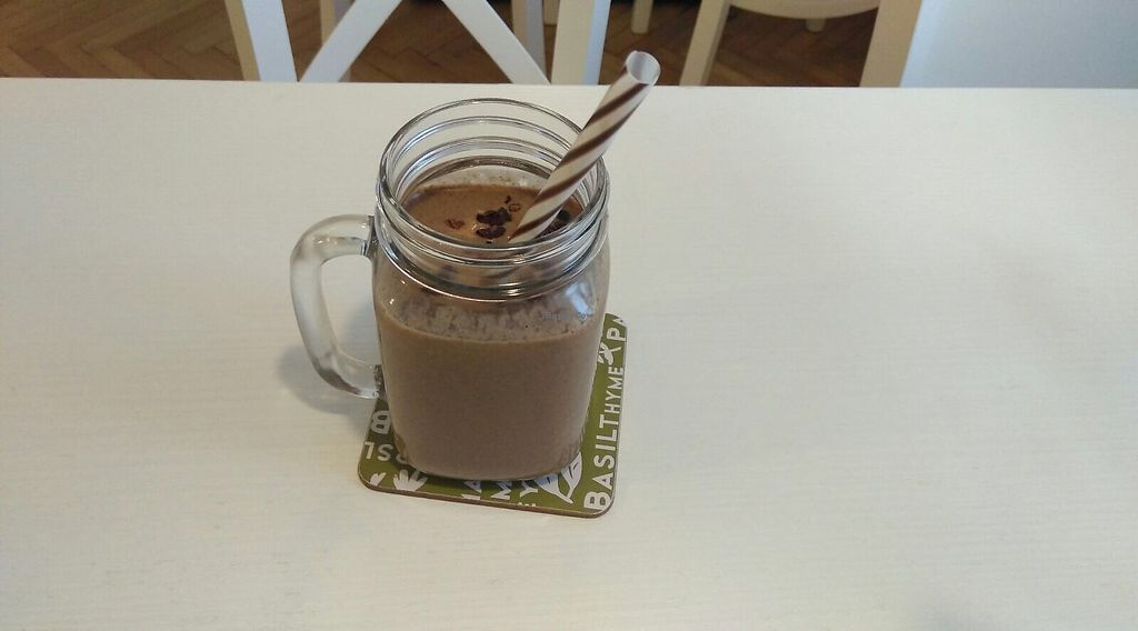 """Photo of She's Green  by <a href=""""/members/profile/RazZor"""">RazZor</a> <br/>chocolate-banana smoothie <br/> July 18, 2017  - <a href='/contact/abuse/image/95077/281890'>Report</a>"""