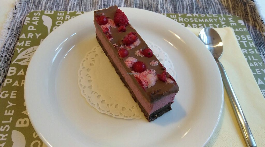 """Photo of She's Green  by <a href=""""/members/profile/RazZor"""">RazZor</a> <br/>berries and chocolate cake <br/> July 18, 2017  - <a href='/contact/abuse/image/95077/281891'>Report</a>"""