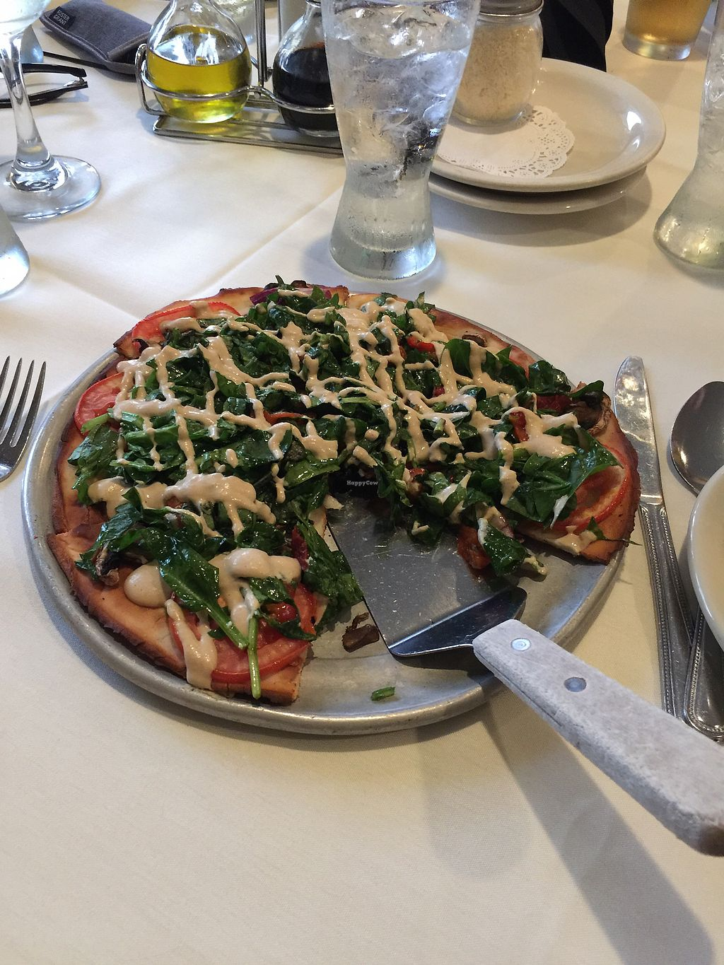 """Photo of Jack's Restaurant  by <a href=""""/members/profile/AngieLupusLife"""">AngieLupusLife</a> <br/>Vegan pizza  <br/> September 9, 2017  - <a href='/contact/abuse/image/95081/302272'>Report</a>"""