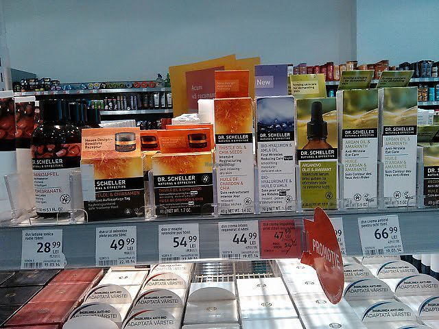 """Photo of DM Drogerie Markt - Bega  by <a href=""""/members/profile/alexandra_vegan"""">alexandra_vegan</a> <br/>Some more vegan items from Dr Scheller <br/> July 10, 2017  - <a href='/contact/abuse/image/95085/278596'>Report</a>"""
