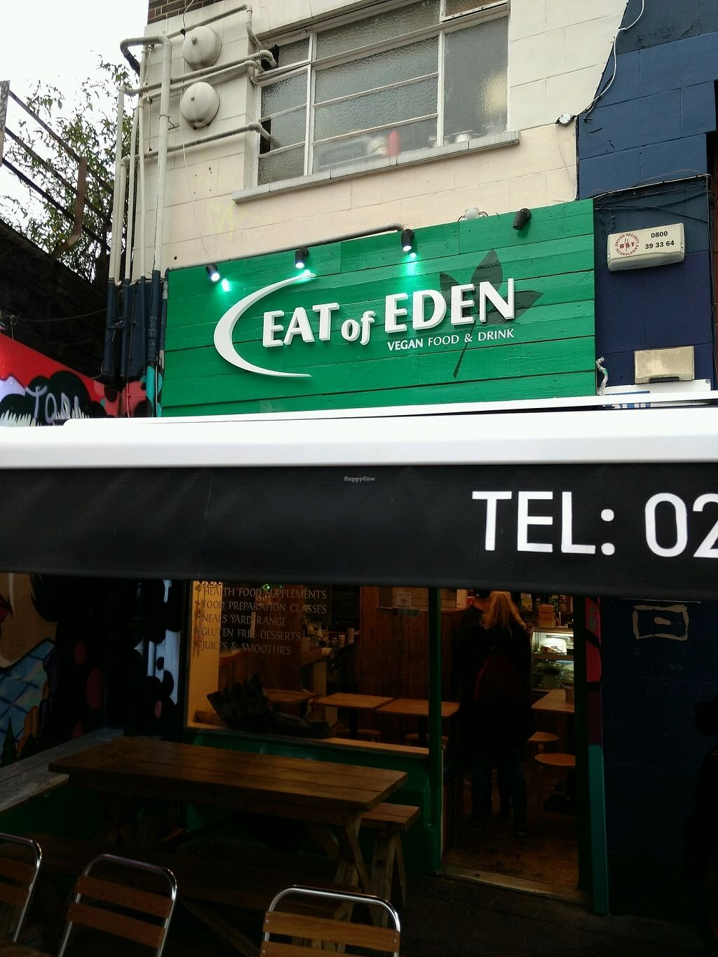 "Photo of Eat of Eden  by <a href=""/members/profile/craigmc"">craigmc</a> <br/>Brixton <br/> October 16, 2017  - <a href='/contact/abuse/image/95115/315882'>Report</a>"