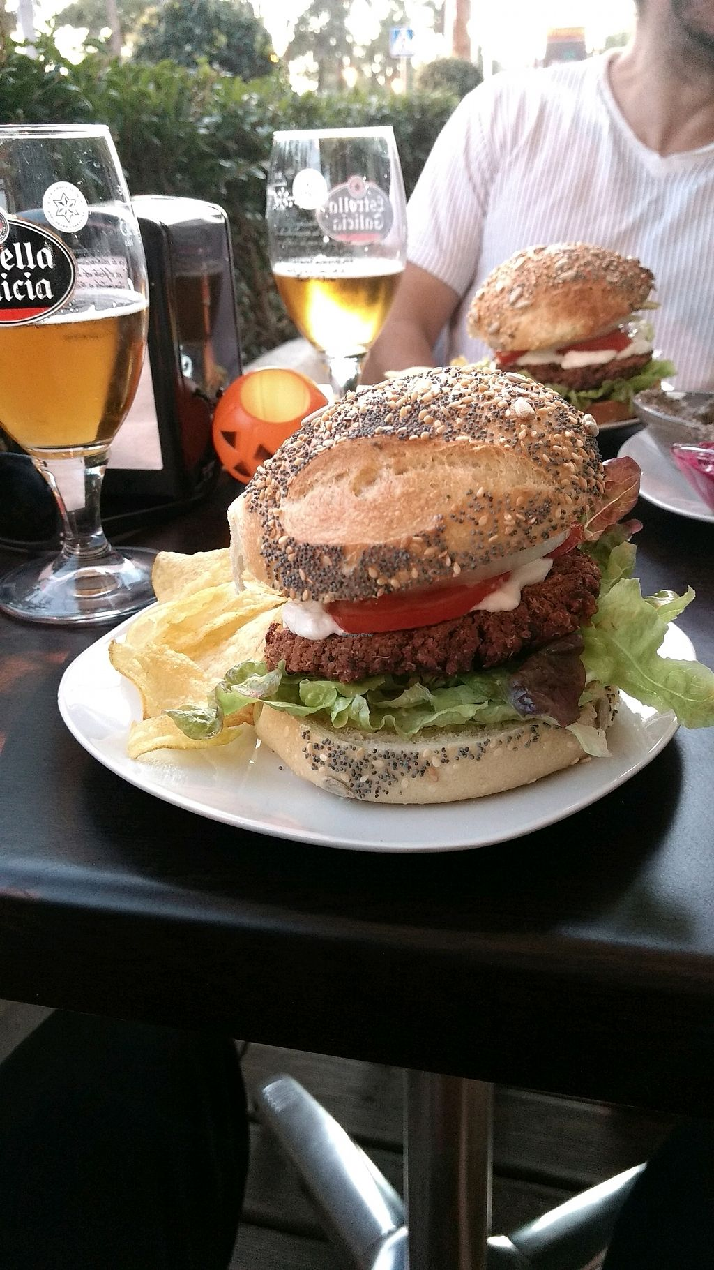 """Photo of Petit Vegan  by <a href=""""/members/profile/NilsSund%C3%A9n"""">NilsSundén</a> <br/>The burger <br/> October 27, 2017  - <a href='/contact/abuse/image/95126/319295'>Report</a>"""
