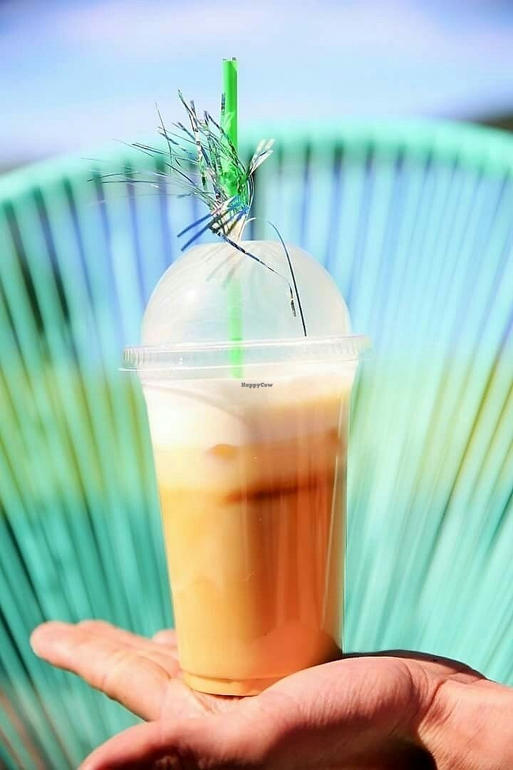 "Photo of Palma Kiosk & Kaffebar  by <a href=""/members/profile/Palmakiosk"">Palmakiosk</a> <br/>Palma ice coffee with vanilla soy milk! <br/> July 2, 2017  - <a href='/contact/abuse/image/95135/275892'>Report</a>"
