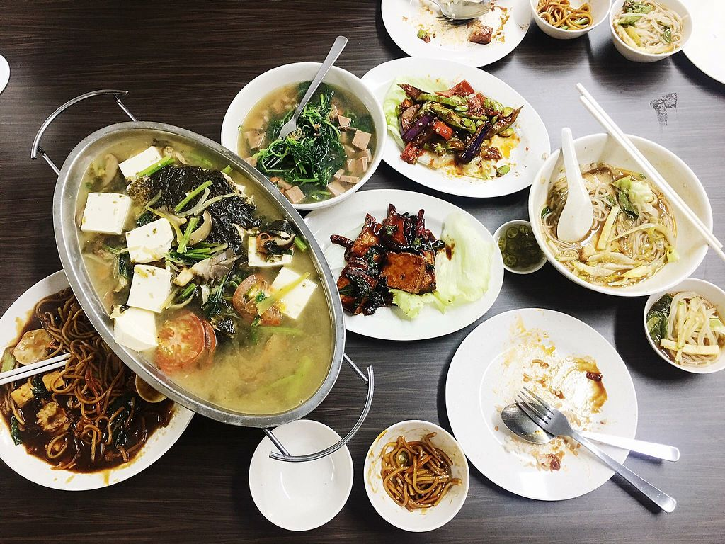 """Photo of Shu Vegetarian - Ang Mo Kio   by <a href=""""/members/profile/CherylQuincy"""">CherylQuincy</a> <br/>Dinner <br/> January 17, 2018  - <a href='/contact/abuse/image/95161/347381'>Report</a>"""