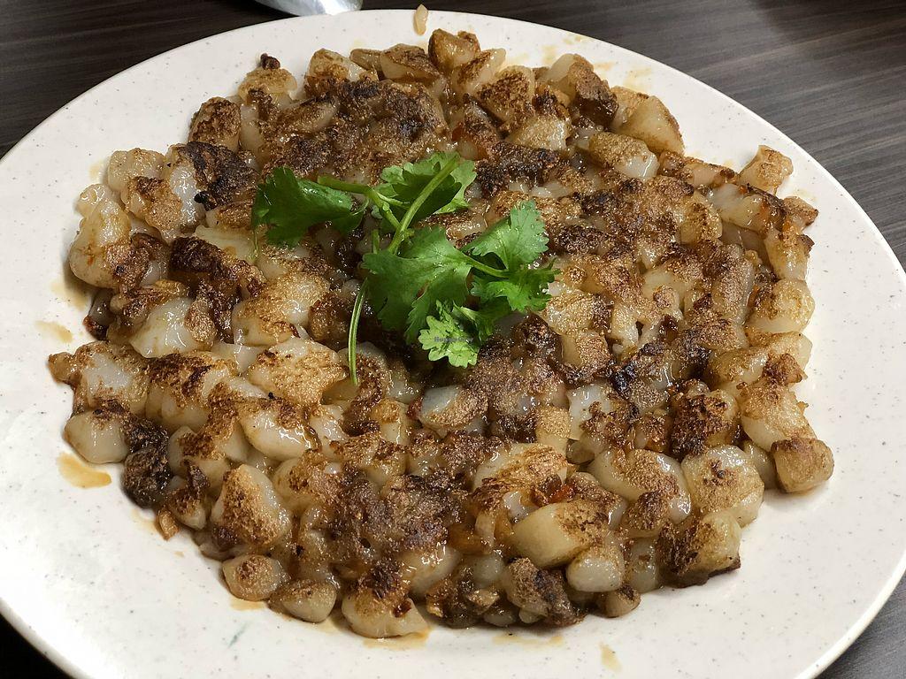 """Photo of Shu Vegetarian - Ang Mo Kio   by <a href=""""/members/profile/CherylQuincy"""">CherylQuincy</a> <br/>Eggless stir fried carrot cake <br/> January 31, 2018  - <a href='/contact/abuse/image/95161/352969'>Report</a>"""