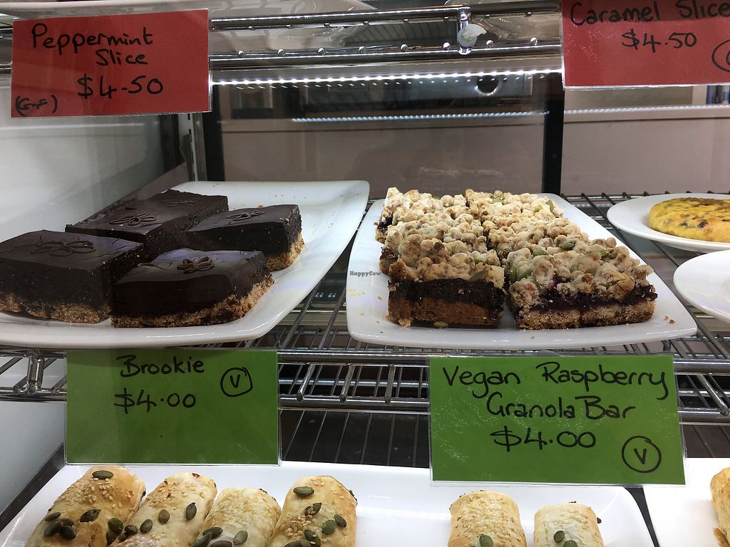 """Photo of Penelopes Cakery Deli  by <a href=""""/members/profile/Yolanda"""">Yolanda</a> <br/>vegan slices <br/> August 29, 2017  - <a href='/contact/abuse/image/95170/298491'>Report</a>"""