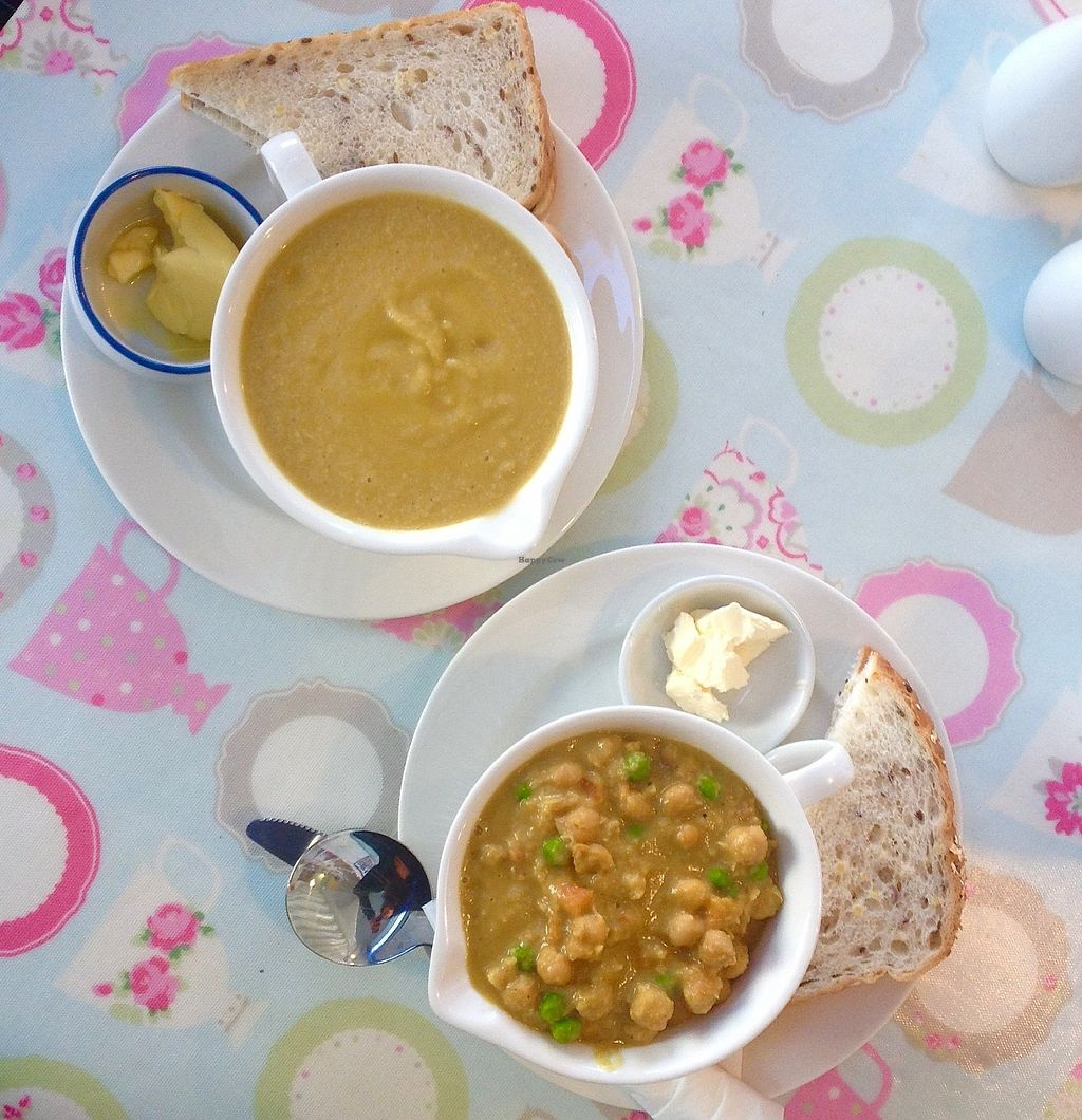 """Photo of Penelopes Cakery Deli  by <a href=""""/members/profile/Gravenhale"""">Gravenhale</a> <br/>Soup and chickpea curry <br/> September 2, 2017  - <a href='/contact/abuse/image/95170/299946'>Report</a>"""