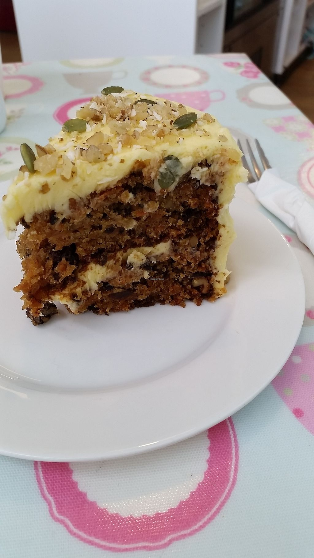 """Photo of Penelopes Cakery Deli  by <a href=""""/members/profile/AndyTheVWDude"""">AndyTheVWDude</a> <br/>Delicious carrot cake <br/> September 4, 2017  - <a href='/contact/abuse/image/95170/300981'>Report</a>"""