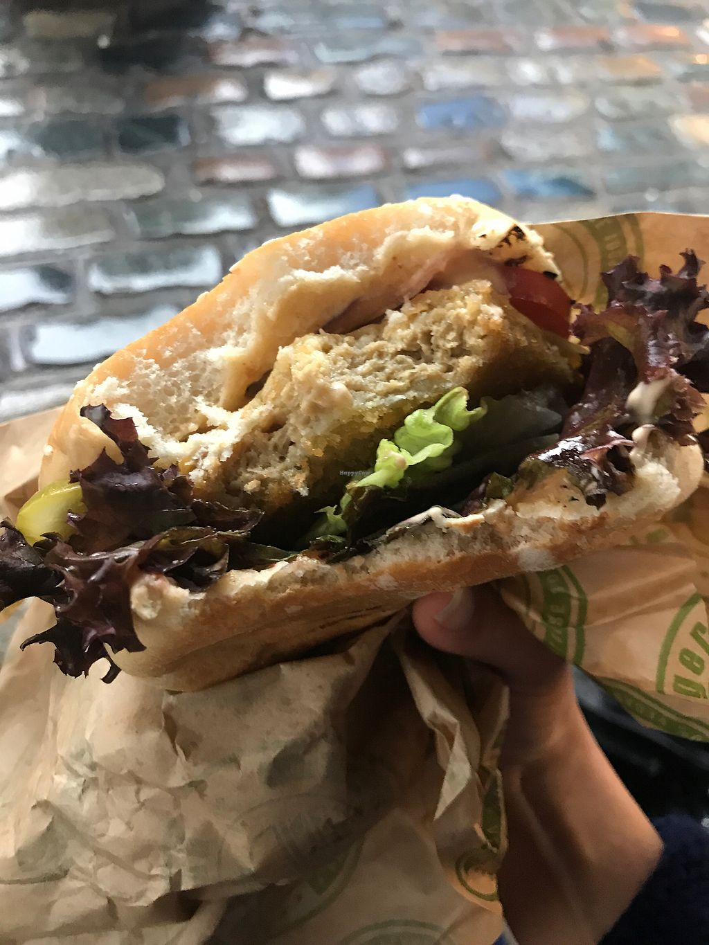 """Photo of Vburger  by <a href=""""/members/profile/AnaBanannaPancake"""">AnaBanannaPancake</a> <br/>Schnitzel burger  <br/> November 12, 2017  - <a href='/contact/abuse/image/95197/324651'>Report</a>"""