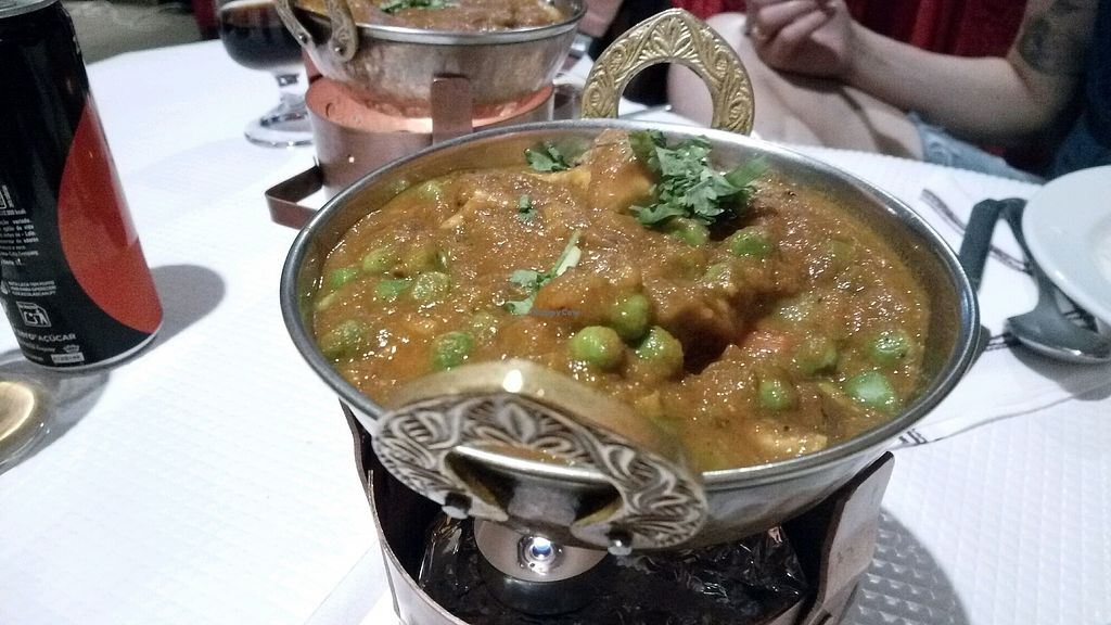 """Photo of Sanskar Nepal  by <a href=""""/members/profile/%D7%A0%D7%95%D7%A4%D7%A8"""">נופר</a> <br/>vegan chicken massala, dont miss it!  <br/> September 18, 2017  - <a href='/contact/abuse/image/95207/305794'>Report</a>"""
