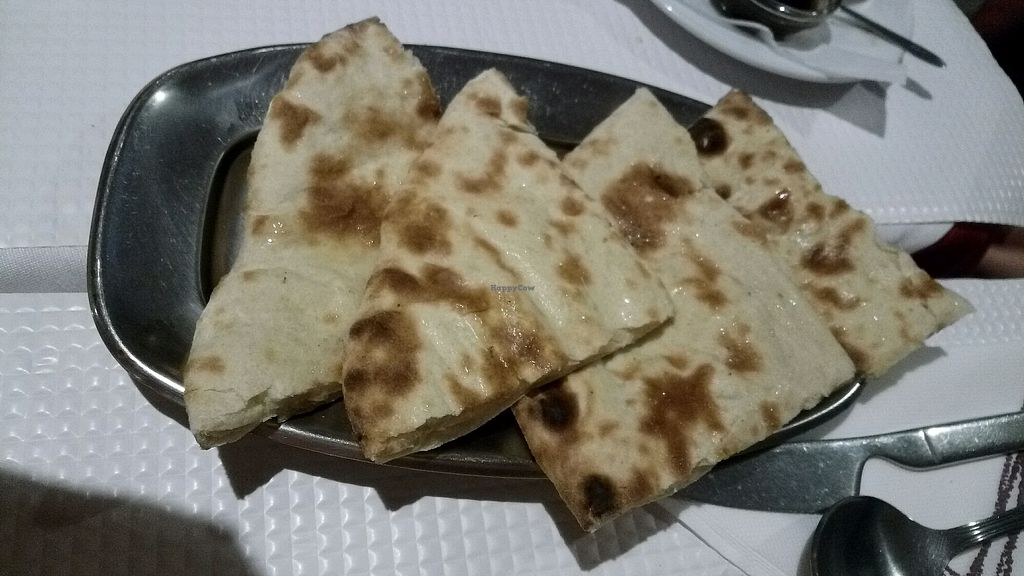 """Photo of Sanskar Nepal  by <a href=""""/members/profile/%D7%A0%D7%95%D7%A4%D7%A8"""">נופר</a> <br/>naan with vegan cheese, very good!  <br/> September 18, 2017  - <a href='/contact/abuse/image/95207/305795'>Report</a>"""