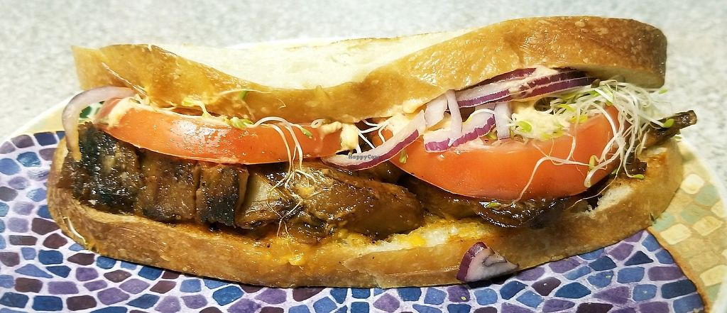 """Photo of enVegan  by <a href=""""/members/profile/GroovyGal"""">GroovyGal</a> <br/>Sweet BBQ Sandwich❤ <br/> August 4, 2017  - <a href='/contact/abuse/image/95210/288707'>Report</a>"""