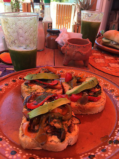 """Photo of Amaranto Vegetarian Cafe  by <a href=""""/members/profile/norgon"""">norgon</a> <br/>Hummus and veggie sandwich <br/> July 2, 2017  - <a href='/contact/abuse/image/95239/276132'>Report</a>"""