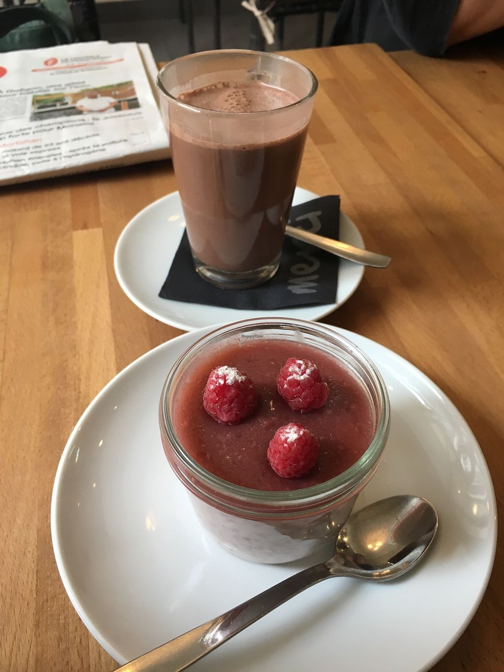 """Photo of L'EntreChoc  by <a href=""""/members/profile/Imixle"""">Imixle</a> <br/>Vegan Coconut hot chocolate and rice pudding  <br/> August 29, 2017  - <a href='/contact/abuse/image/95251/298746'>Report</a>"""