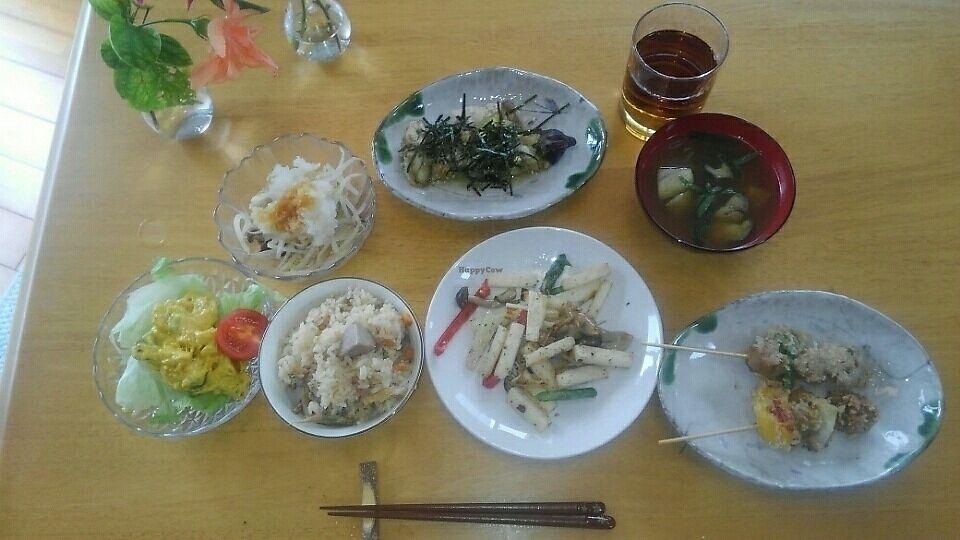 "Photo of Kinahouse Okinawa Sesoko   by <a href=""/members/profile/KaoriAoki"">KaoriAoki</a> <br/>Dinner menu  <br/> July 15, 2017  - <a href='/contact/abuse/image/95260/280518'>Report</a>"