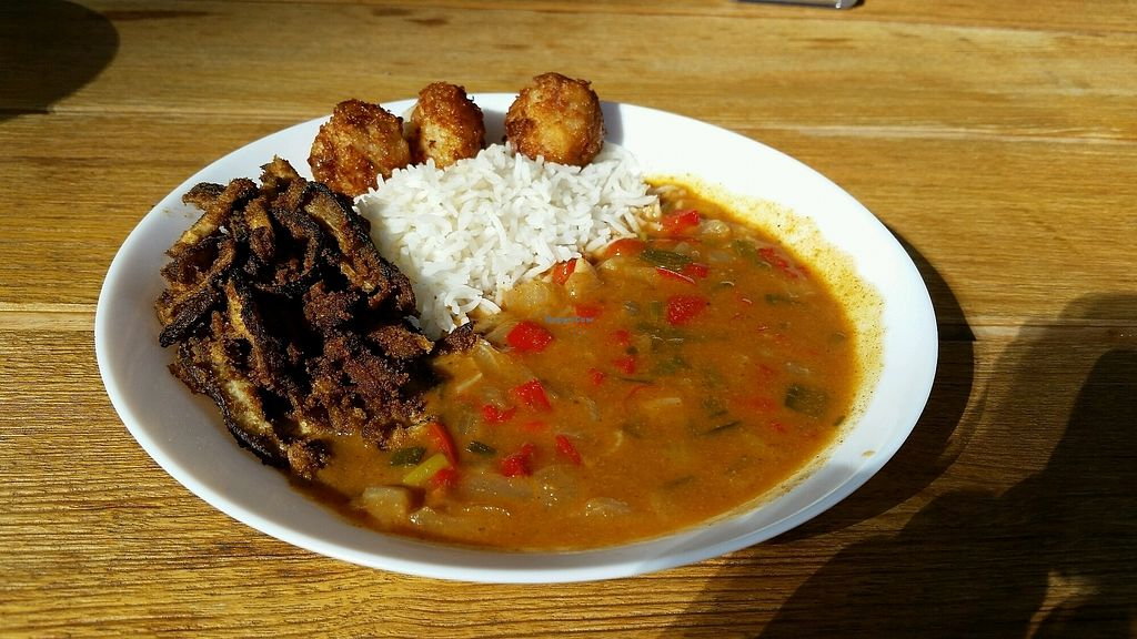 """Photo of Veg On The Edge  by <a href=""""/members/profile/Conniemm"""">Conniemm</a> <br/>yaji mushroom sauce <br/> November 7, 2017  - <a href='/contact/abuse/image/95261/322827'>Report</a>"""
