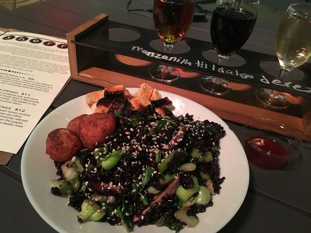 """Photo of Veg On The Edge  by <a href=""""/members/profile/vegancheeks"""">vegancheeks</a> <br/>Black rice bowl, so good <br/> April 25, 2018  - <a href='/contact/abuse/image/95261/390921'>Report</a>"""