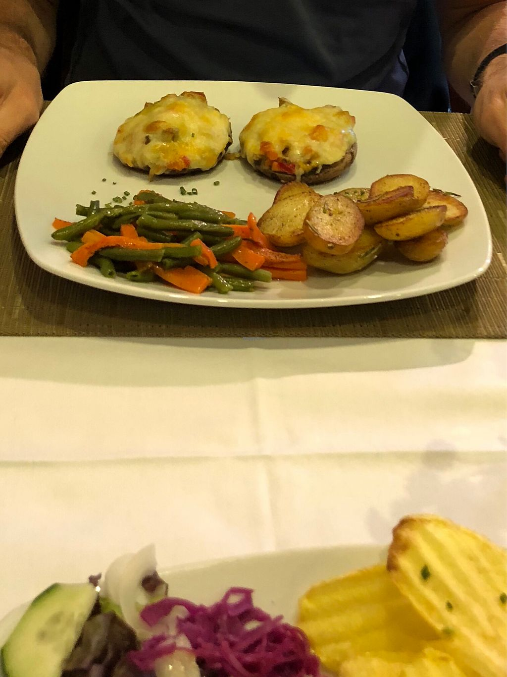 "Photo of Xisko  by <a href=""/members/profile/RainerVoit"">RainerVoit</a> <br/>Stuffed Portobellos (Vegetarian) <br/> May 12, 2018  - <a href='/contact/abuse/image/95265/398871'>Report</a>"