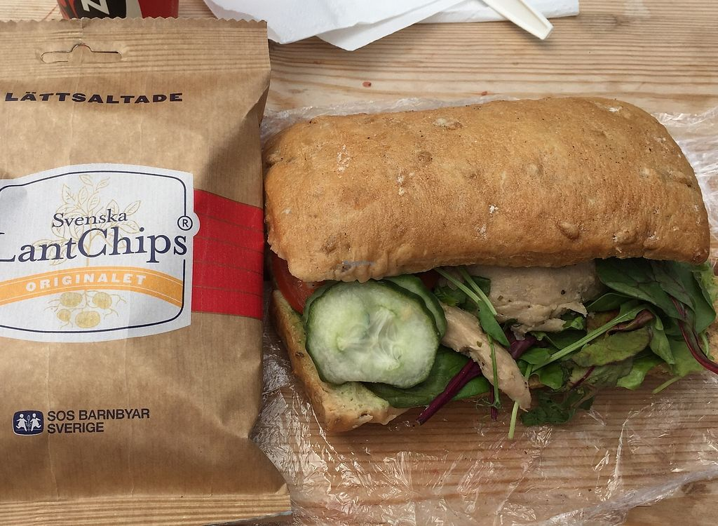 "Photo of Gamla Krogen - Food Stand  by <a href=""/members/profile/Hyperbelly"">Hyperbelly</a> <br/>The Oumph Sandwich. Yum! <br/> July 2, 2017  - <a href='/contact/abuse/image/95267/276068'>Report</a>"