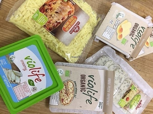 """Photo of Universo Organic  by <a href=""""/members/profile/Organicveganvalencia"""">Organicveganvalencia</a> <br/>Vegan cheese <br/> August 16, 2017  - <a href='/contact/abuse/image/95269/293154'>Report</a>"""