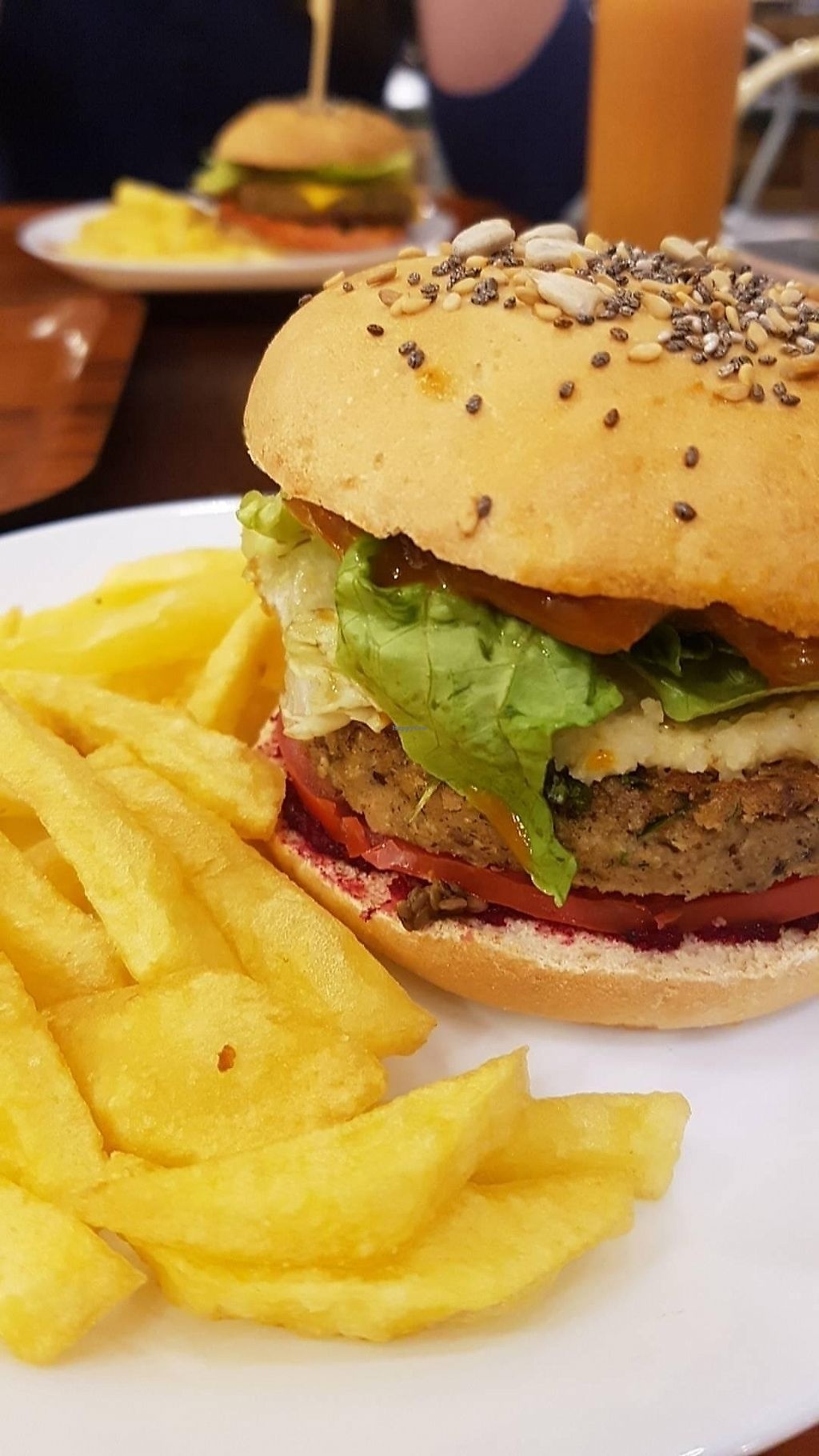 """Photo of Veggie  by <a href=""""/members/profile/Brunomlalves"""">Brunomlalves</a> <br/>Soy quinoa burger <br/> July 6, 2017  - <a href='/contact/abuse/image/95282/277285'>Report</a>"""