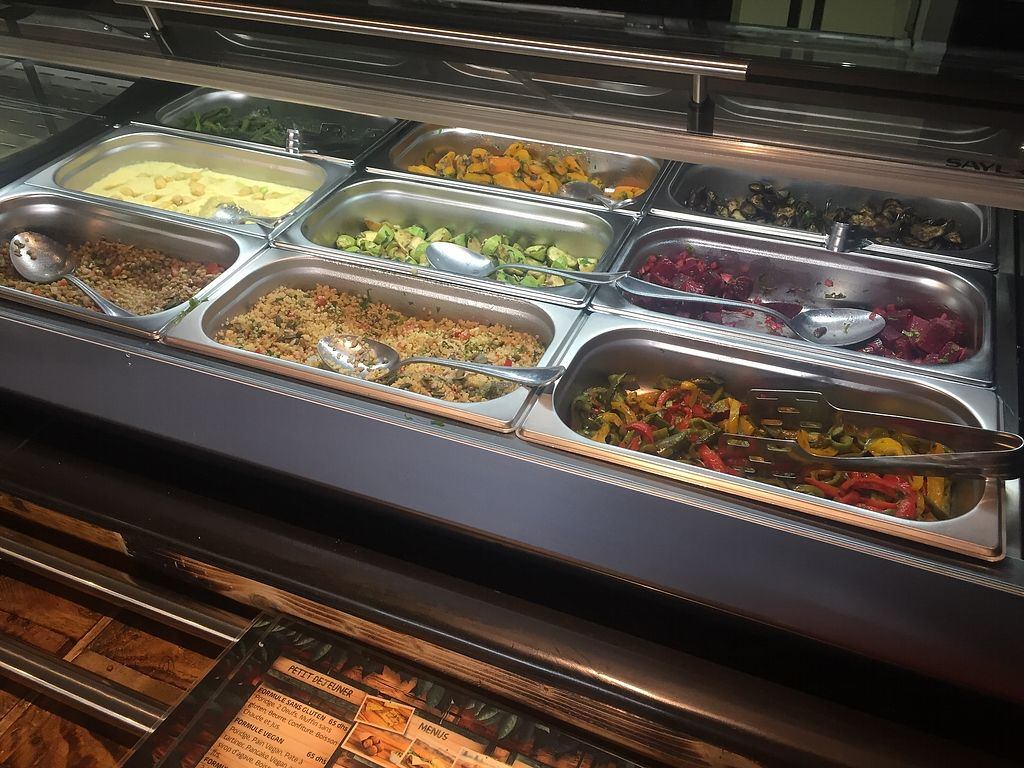 """Photo of Veggie  by <a href=""""/members/profile/Alena"""">Alena</a> <br/>Salad buffet <br/> August 19, 2017  - <a href='/contact/abuse/image/95282/294415'>Report</a>"""