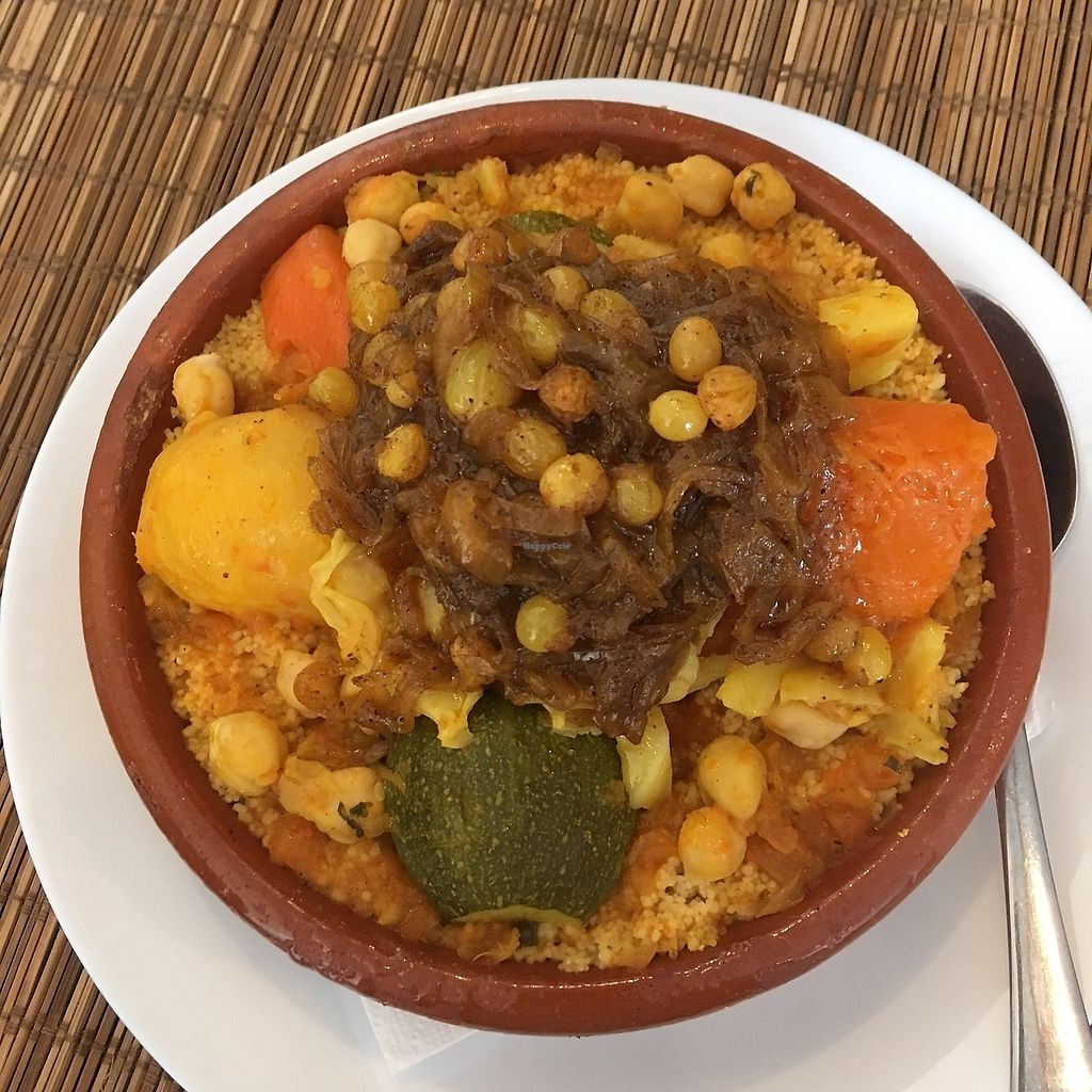"""Photo of Veggie  by <a href=""""/members/profile/aami"""">aami</a> <br/>vegan couscous <br/> February 18, 2018  - <a href='/contact/abuse/image/95282/360894'>Report</a>"""