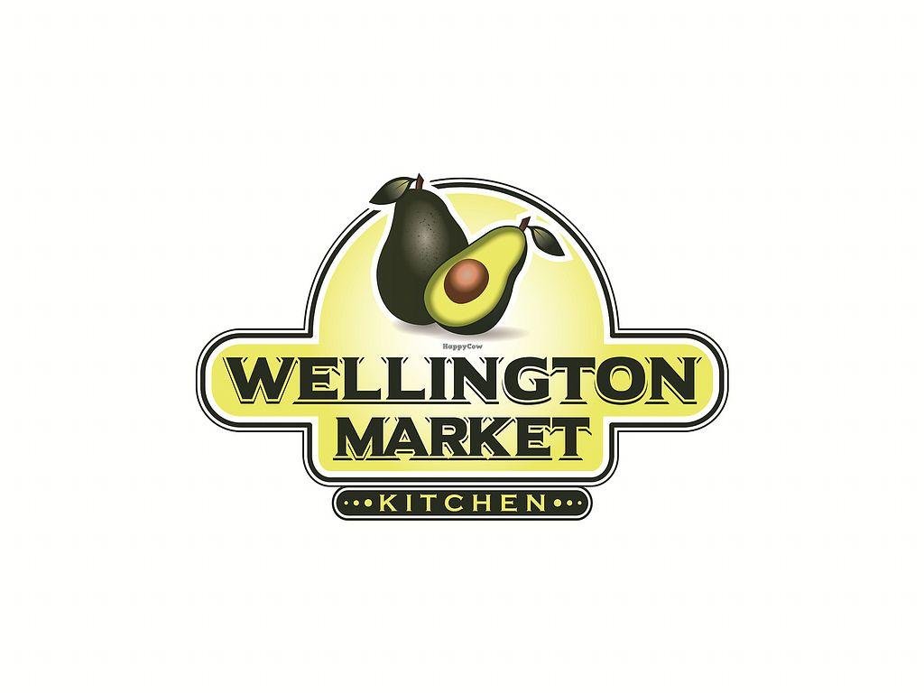 """Photo of CLOSED: Wellington Market Kitchen  by <a href=""""/members/profile/DanPlamondon"""">DanPlamondon</a> <br/>Wellington Market logo <br/> July 4, 2017  - <a href='/contact/abuse/image/95284/276498'>Report</a>"""