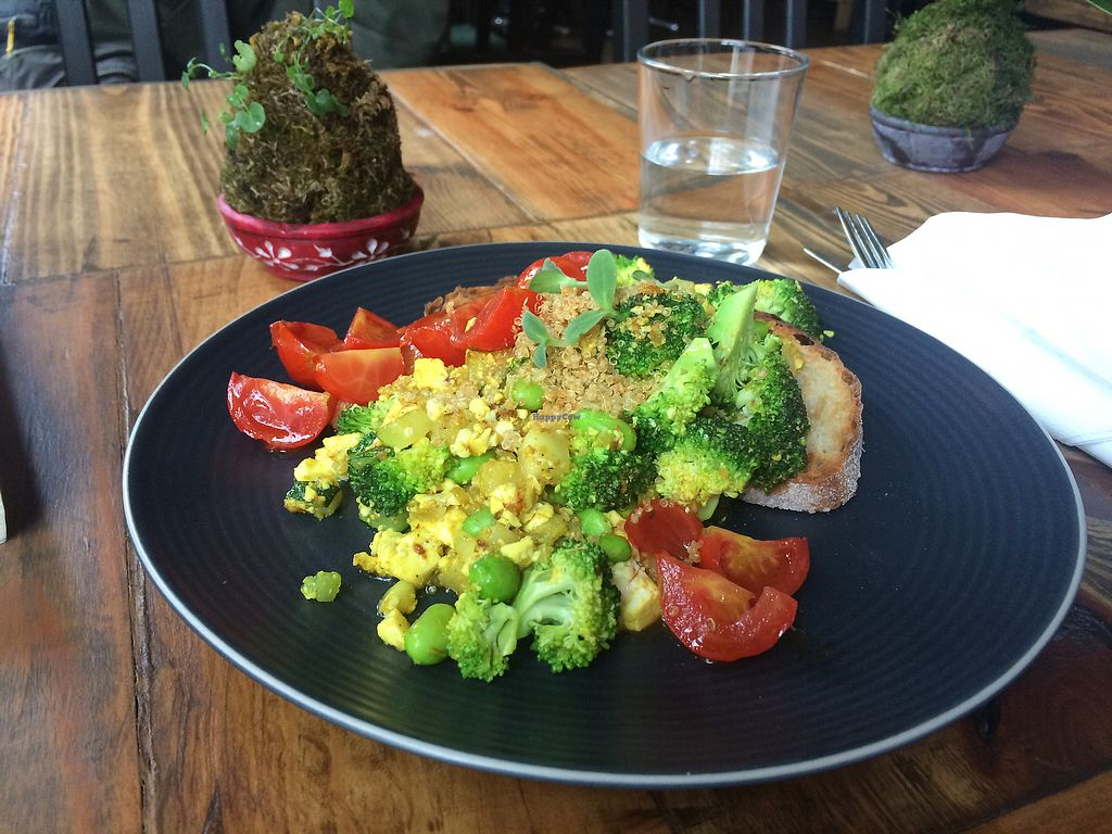 "Photo of Dwell  by <a href=""/members/profile/True"">True</a> <br/>Scrambled tofu and quinoa <br/> August 23, 2017  - <a href='/contact/abuse/image/95285/296220'>Report</a>"