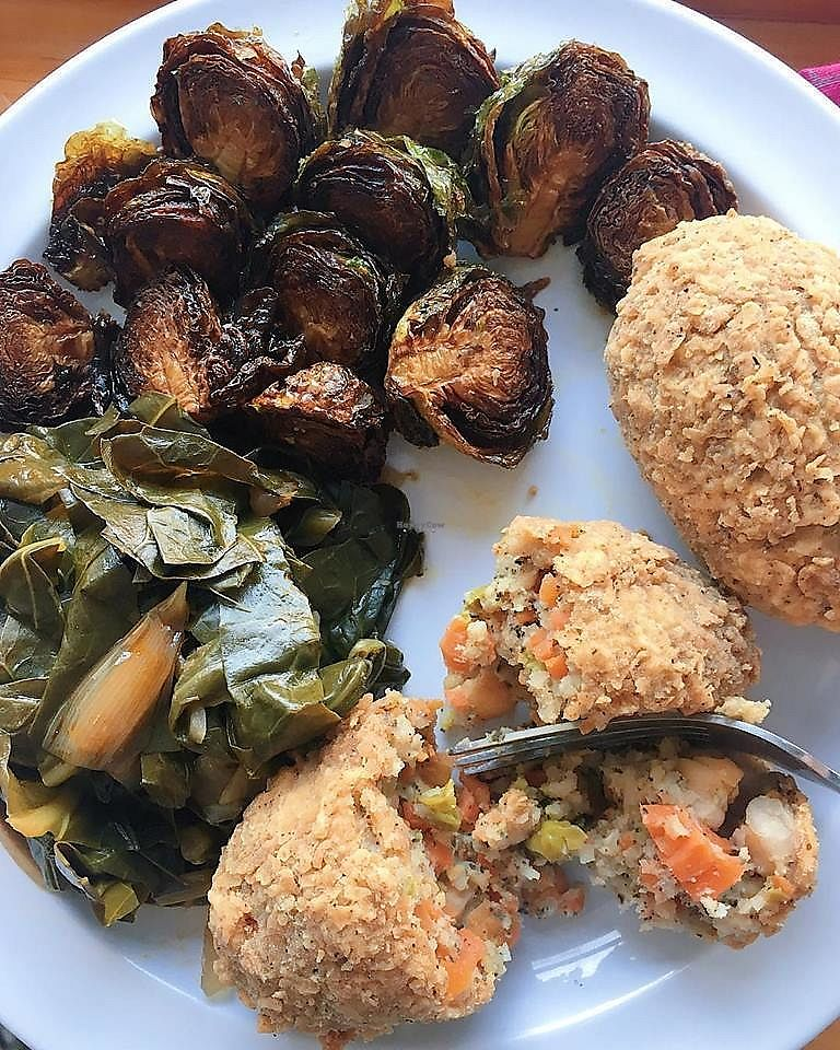 """Photo of Mean Bird  by <a href=""""/members/profile/JulieS"""">JulieS</a> <br/>Veggie Bird, Brussels Sprouts, Collard Greens <br/> November 26, 2017  - <a href='/contact/abuse/image/95294/329472'>Report</a>"""