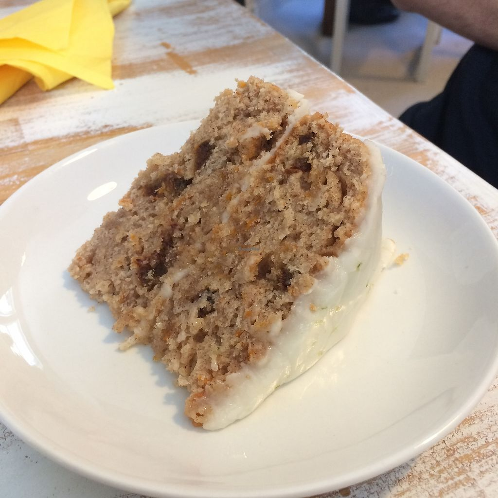"""Photo of Plenty at The Square  by <a href=""""/members/profile/Hoggy"""">Hoggy</a> <br/>Vegan Carrot Cake <br/> July 23, 2017  - <a href='/contact/abuse/image/95319/283775'>Report</a>"""