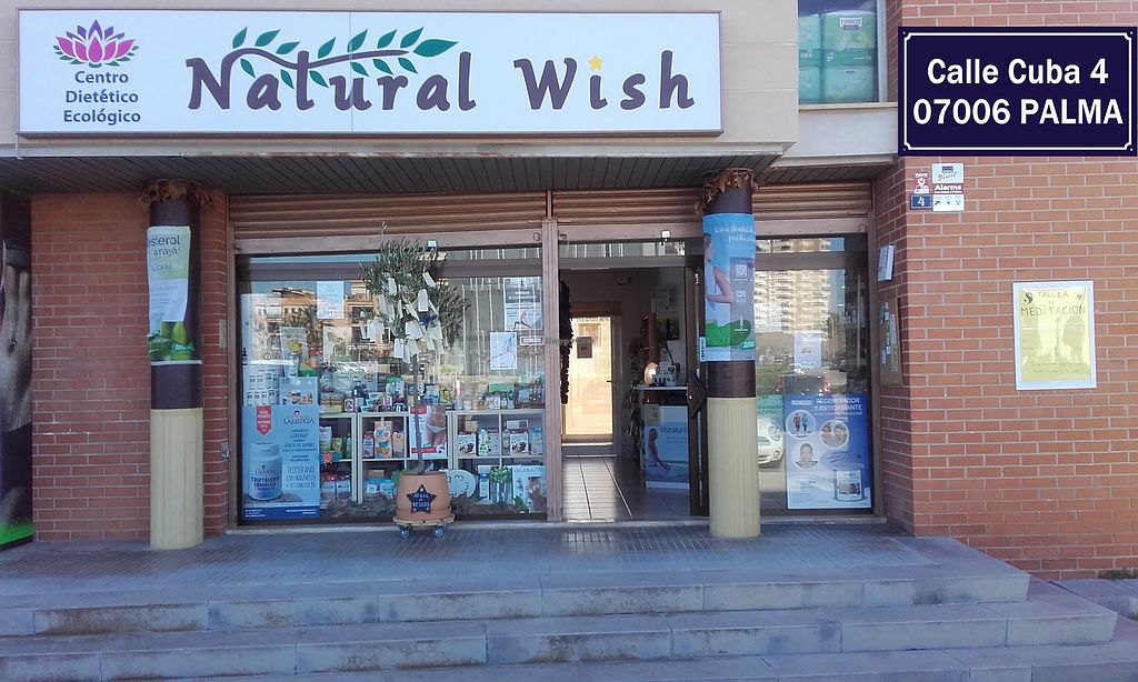 """Photo of Natural Wish  by <a href=""""/members/profile/NuriaM"""">NuriaM</a> <br/>Ecological and healthy products, vitamins, supplements, safety cosmetics and much more (herbs, essential oils, candles, incense, books, food for pets, seeds and germinators, baby care products...).  Reflexology, meditation, yoga and other classes are also offered in a separate room that has soft flooring. Once a week we receive ecological fruit and vegetables under command, and gluten free baked bread can be ordered too. We've got a wishing tree at the main door and we hope you come soon to hang your wish, to go for it. Wishing you the best, Nuria from Natural Wish <br/> July 3, 2017  - <a href='/contact/abuse/image/95332/276446'>Report</a>"""