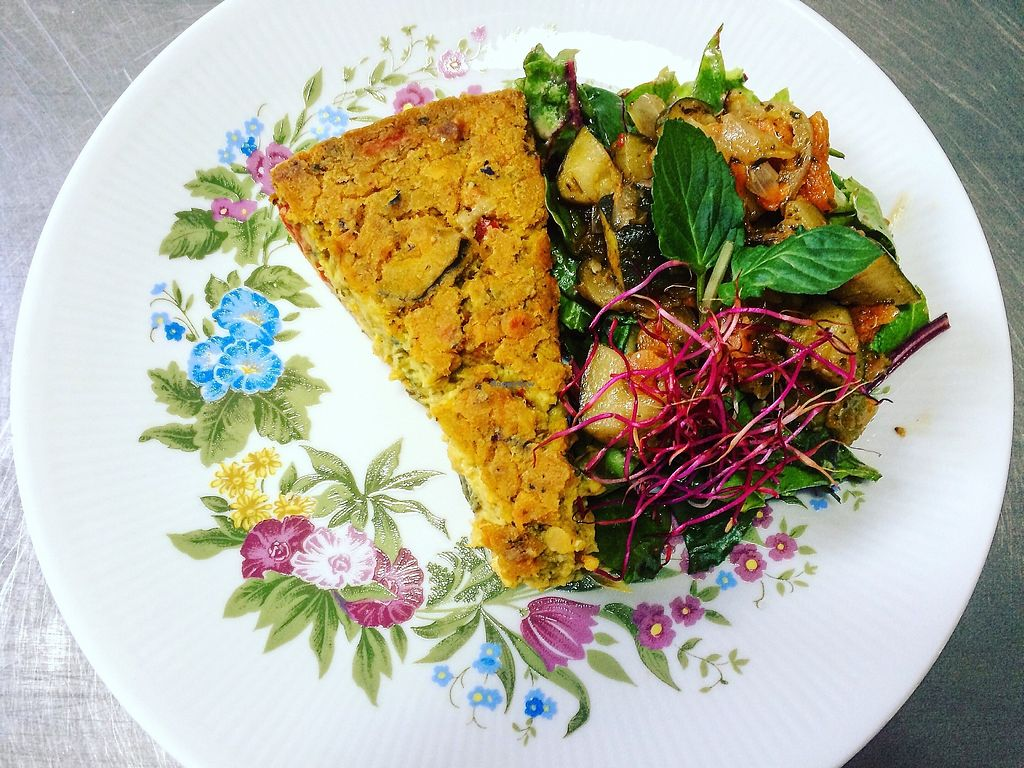 """Photo of Crops  by <a href=""""/members/profile/Luise104"""">Luise104</a> <br/>Vegan Quiche <br/> July 5, 2017  - <a href='/contact/abuse/image/95349/276963'>Report</a>"""