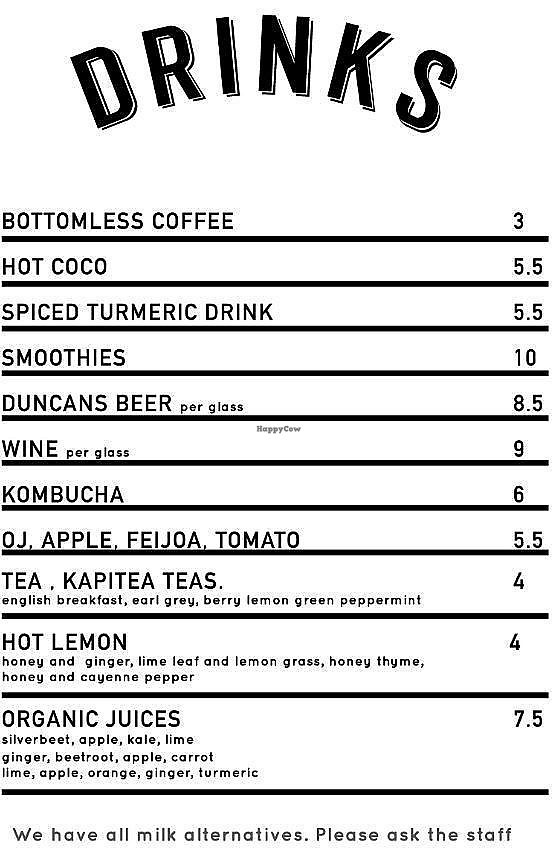 """Photo of Sunday Cantina  by <a href=""""/members/profile/AndyTheVWDude"""">AndyTheVWDude</a> <br/>Drinks Menu - July 2017 <br/> July 4, 2017  - <a href='/contact/abuse/image/95357/276519'>Report</a>"""