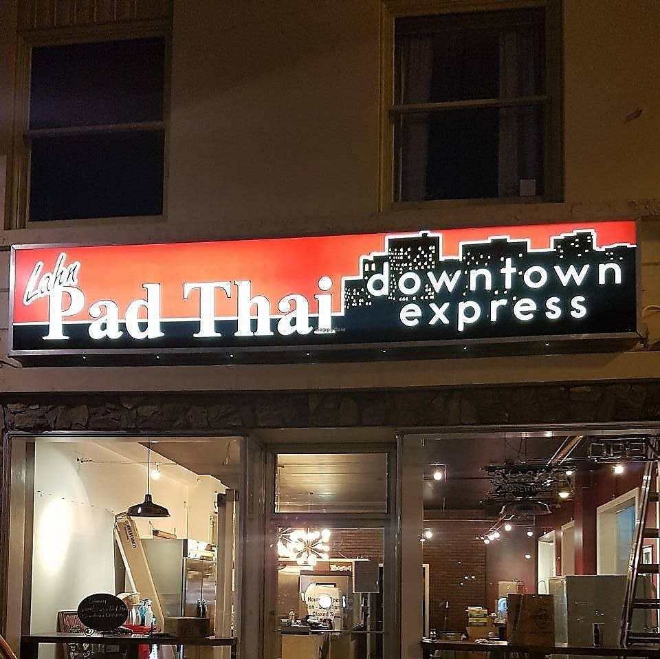 """Photo of Lahn Pad Thai  by <a href=""""/members/profile/ErinElizabeth907"""">ErinElizabeth907</a> <br/>Second location conveniently downtown! <br/> November 22, 2017  - <a href='/contact/abuse/image/95359/328183'>Report</a>"""