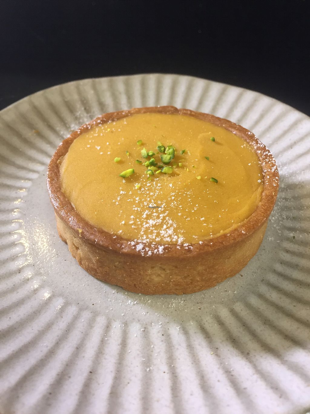 """Photo of Zhen De Coffee  by <a href=""""/members/profile/HaileyPoLa"""">HaileyPoLa</a> <br/>sweet potato tart  <br/> July 11, 2017  - <a href='/contact/abuse/image/95386/279100'>Report</a>"""