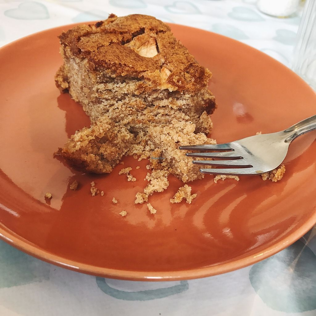 """Photo of  Cafe Banana  by <a href=""""/members/profile/Daveyxvx"""">Daveyxvx</a> <br/>Vegan Apple Ginger Cake <br/> August 30, 2017  - <a href='/contact/abuse/image/95395/299003'>Report</a>"""