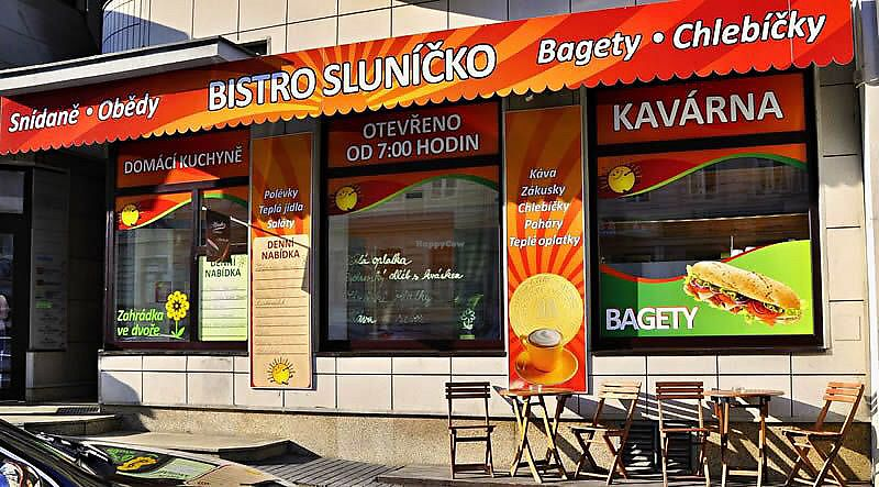 "Photo of Bistro Slunicko  by <a href=""/members/profile/Otroubek"">Otroubek</a> <br/>in front of the bistro <br/> July 9, 2017  - <a href='/contact/abuse/image/95409/278471'>Report</a>"