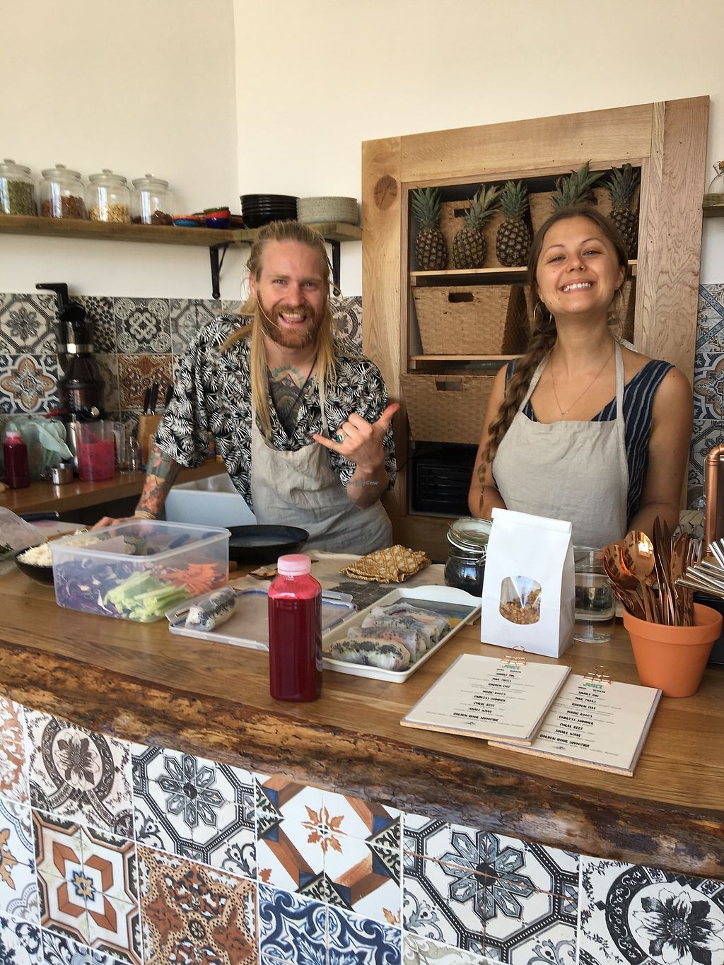 """Photo of Lone Wolves Organics  by <a href=""""/members/profile/JaneMcCabe"""">JaneMcCabe</a> <br/>Met the owners, Lois & Sam, who run Lone Wolves in lovely village of Coggeshall, Essex. So friendly and nothing too much trouble! <br/> July 5, 2017  - <a href='/contact/abuse/image/95415/276950'>Report</a>"""