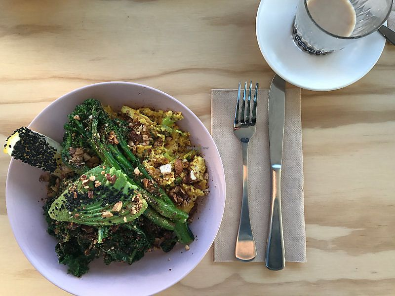 """Photo of Nude Sisters Whole Food Kitchen  by <a href=""""/members/profile/AmandaAttard"""">AmandaAttard</a> <br/>Green Brekkie Bowl <br/> July 5, 2017  - <a href='/contact/abuse/image/95421/276982'>Report</a>"""